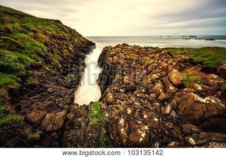 Long Exposure Seascape of Northern Ireland