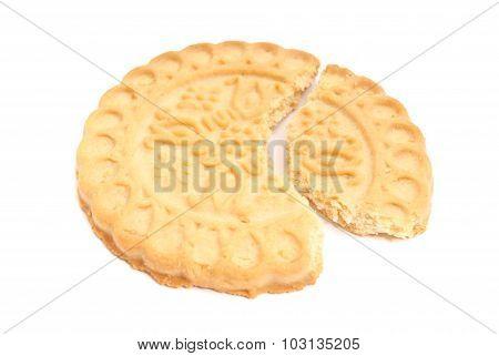 Single Tasty, Fresh Cookie