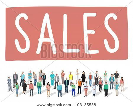 Sales Economy Marketing Financial Good Concept