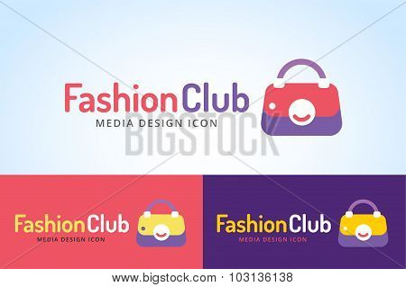 Shopping woman bag icon isolated on white background