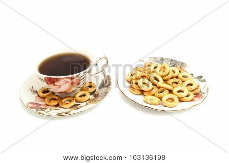 Bagels And Cup Of Tea