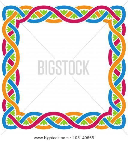 Abstract Celtic Weaving Framework