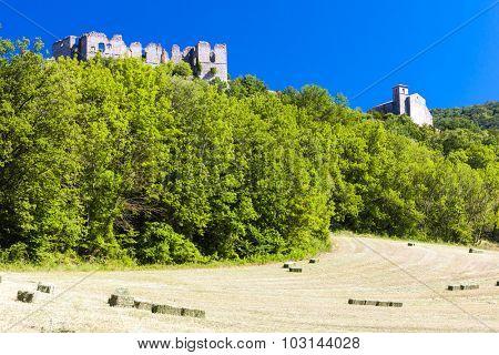Soyans Castle, Rhone-Alpes, France