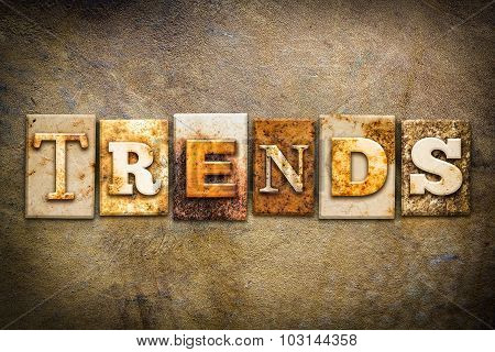 Trends Concept Letterpress Leather Theme