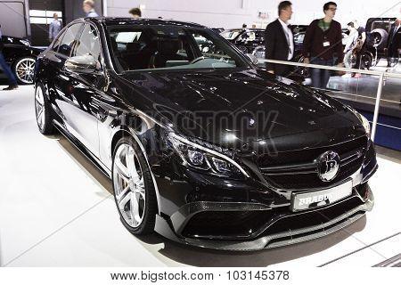 2015 Brabus Mercedes-AMG C63 Coupe