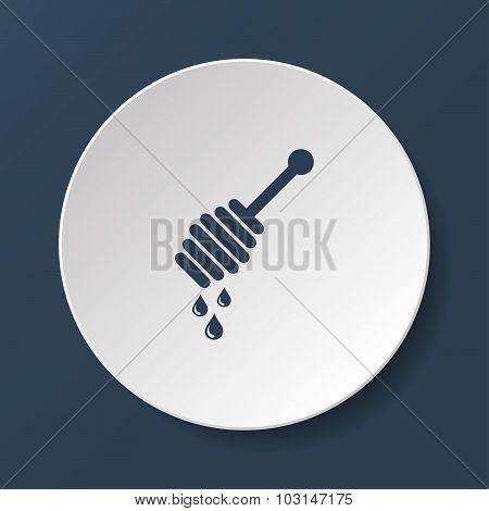 Honey Icon Vector