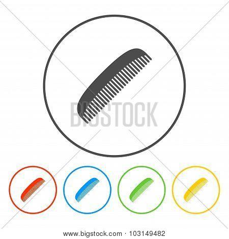 Comb Vector Icon