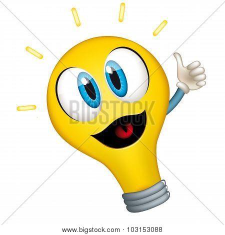 Bulb Vector Cartoon