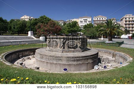 Fountain In Corfu