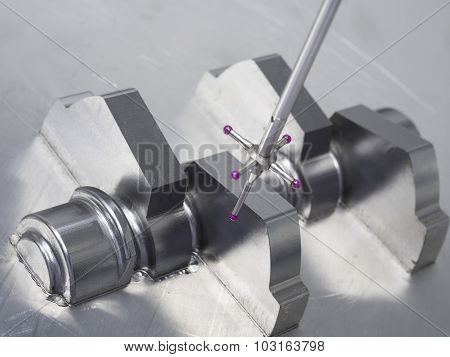 Inspection Automotive Mold Cam Shaft Dimension