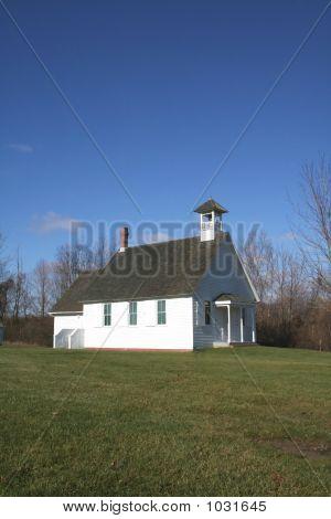 Simple Church In A Village
