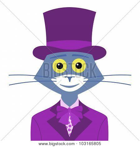 Cat gentleman