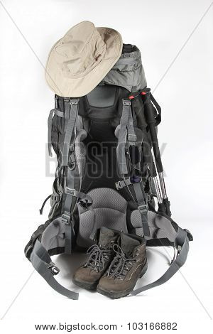 The Set Of Items Of Equipment For Travel
