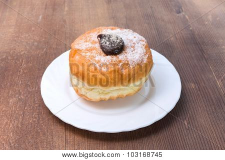 Donut With Chocolate