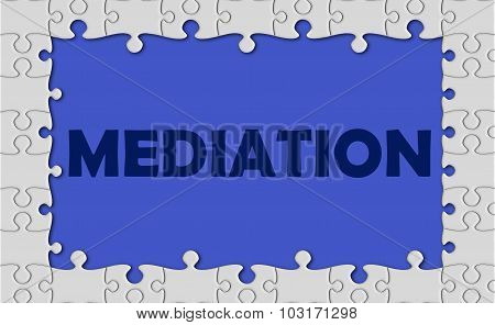 Mediation With Jigsaw Border