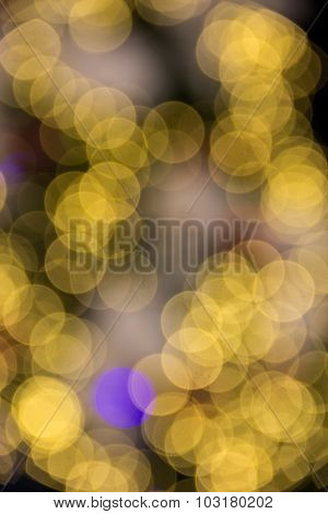 Holiday Bokeh Light. Abstract Christmas Background