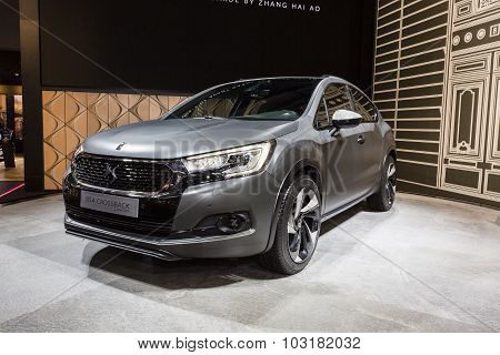 2015 DS4 Crossback Concept
