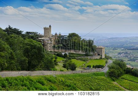 Montmelas Castle, Beaujolais, Rhone, France