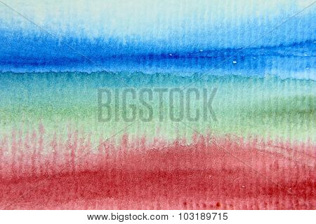 Macro Rainbow Watercolor 6