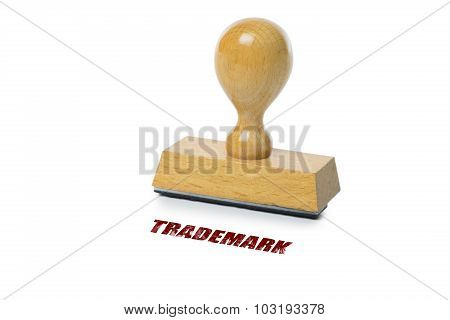 Trademark Rubber Stamp