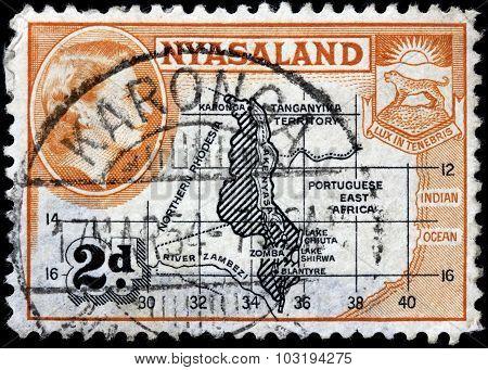 Nyasaland Map