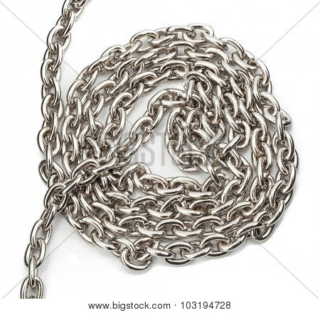 chain isolated on white background.