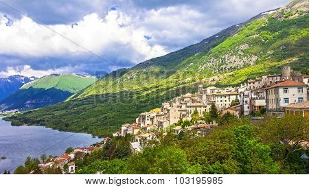 most beautiful villages of Italy - Barrea in Abruzzo
