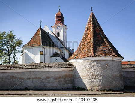 The Armenian Catholic Church in Gheorghe, Romania