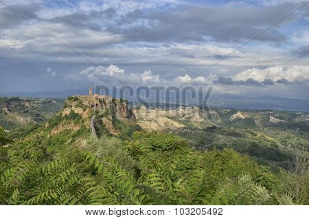 The Village Of Civita Di Bagnoregio