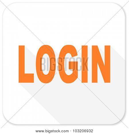 login flat icon