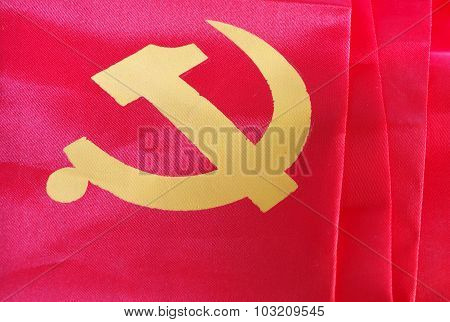 hammer and sickle sign China