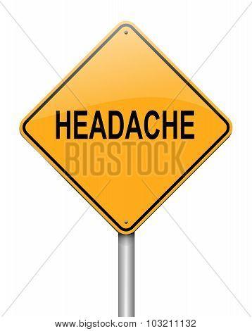 Headache Concept.