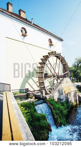 Mill House, Tapolca, Hungary, Central Europe