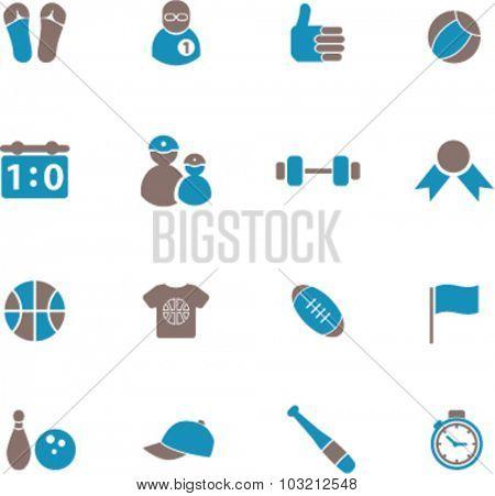 sport gym icons