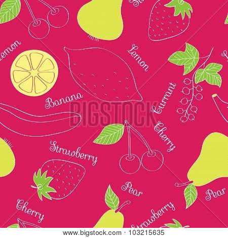 Vegetables And Fruits_pattern