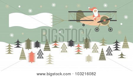 Composition With Christmas Landscape.