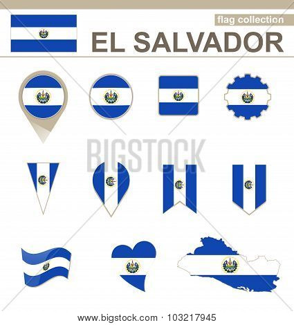 El Salvador Flag Collection
