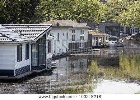 Houseboats.