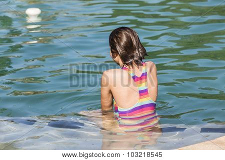 Girl Teen Pool