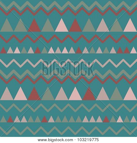 Triangles seamless background