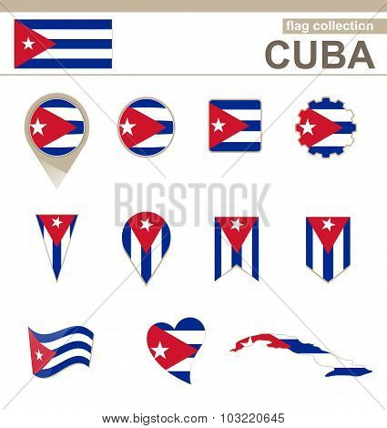 Cuba Flag Collection