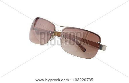 Trendy Brown Sunglasses