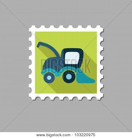 Combine harvester flat stamp