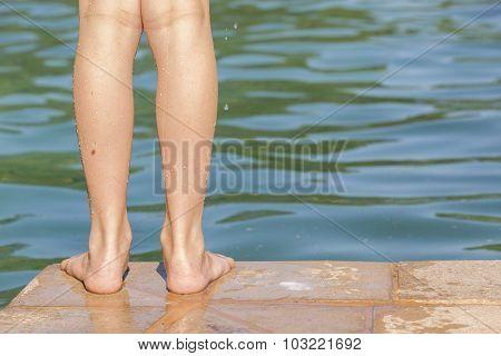 Girl Pool Safety