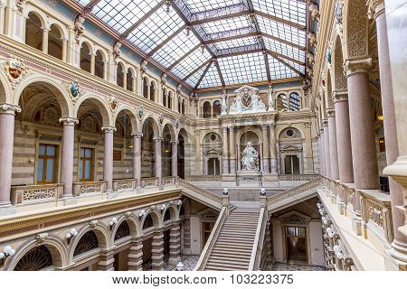 Neo Renaissance Building Of The Palace Of Justice In Vienna