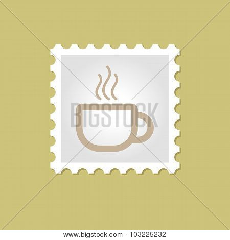 Cap of Tea or Coffee stamp