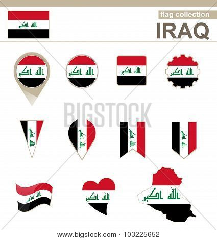 Iraq Flag Collection