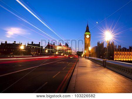 London City Westminster Big Ben Urban Scene Concept