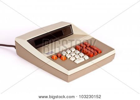 Large Vintage Calculator