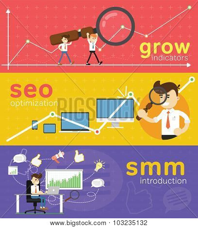 Website Smm And Seo Optimization.